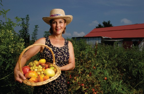 Marianne Jones of Dickson, TN tomatoes