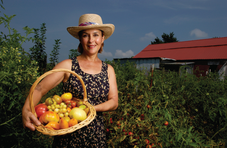 Marianne Jones of Dickson, TN tomatoes