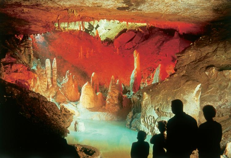 Forbidden Caverns Cave, Sevierville, Tennessee