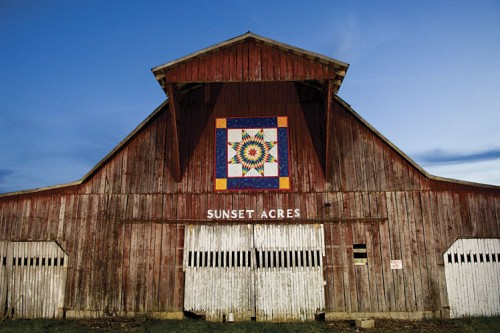 Quilt Block Barn in Algood, TN on the Upper Cumberland Quilt Trail