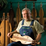 Dulcimer Player Makes Music, Instruments