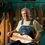 Dulcimer Player Makes Music, Instruments