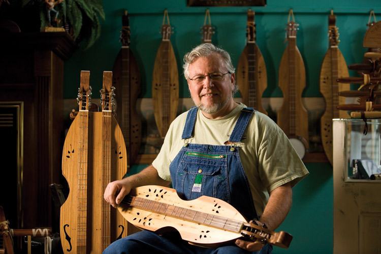 Mike Clemmer, Wood-N-Strings Dulcimer Shop, dulcimers, music