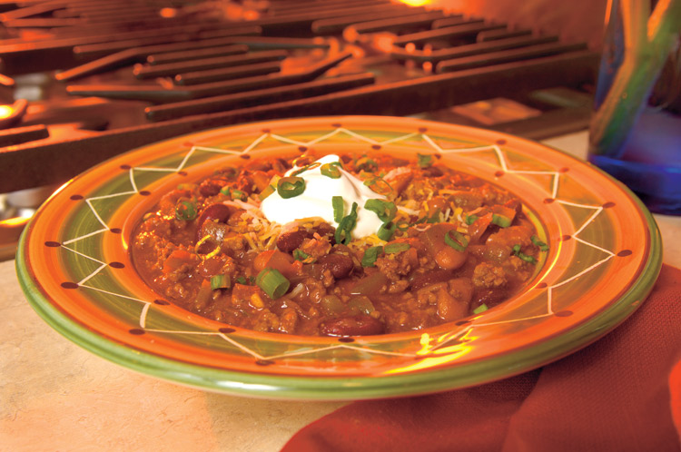 classic chili, food