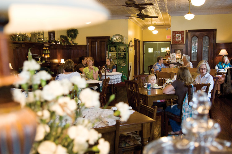Burdett's Tea Shop and Trading Company, Springfield, TN