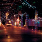 Bristol Speedway Lights Up Holiday Nights