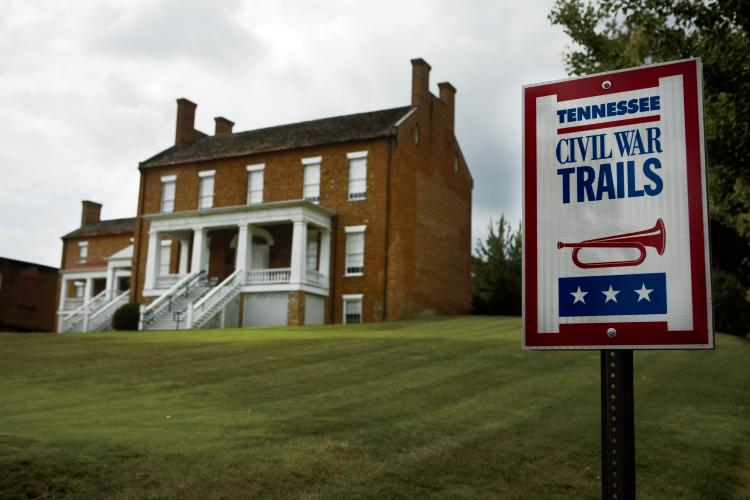 The Dickson-Williams mansion in Greeneville, TN is part of the TN Civil War Trails