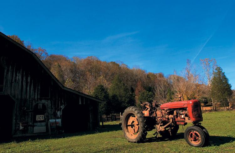 tractor, farm, farming