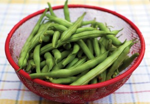 snapping beans