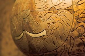 Jane Carter Buis gourd mask