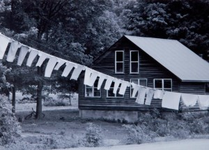 Rural Living Honorable Mention - laundry line