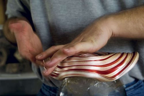 Making Ratliff Candy Cane Baskets