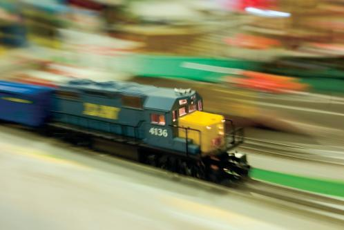 The Annual Toy Train Show