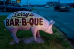 Larry&#039;s Bar-B-Q at the Wagon