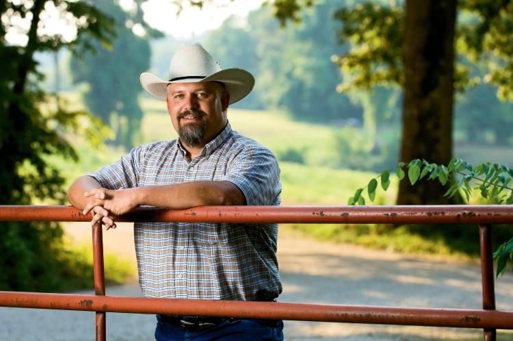 Tennessee farmer John Butler