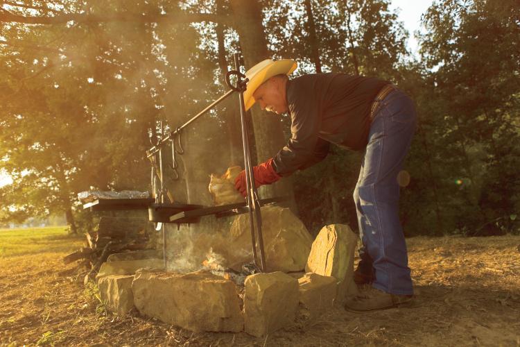 Johnny Nix, the Cowboy Cook