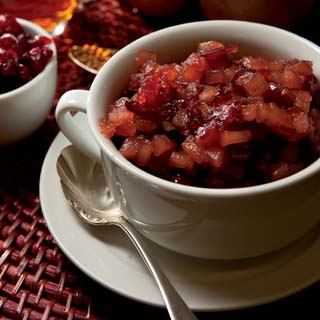 Pear Cranberry Chutney Recipe