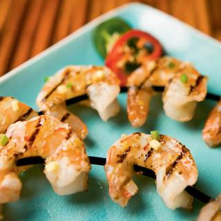 Cider-Glazed Shrimp
