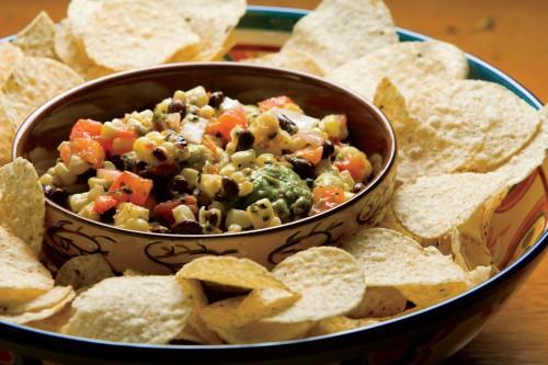 Grilled Corn, Black Bean and Avocado Salsa Recipe