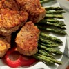 Glazed Pork Medallions with Asparagus