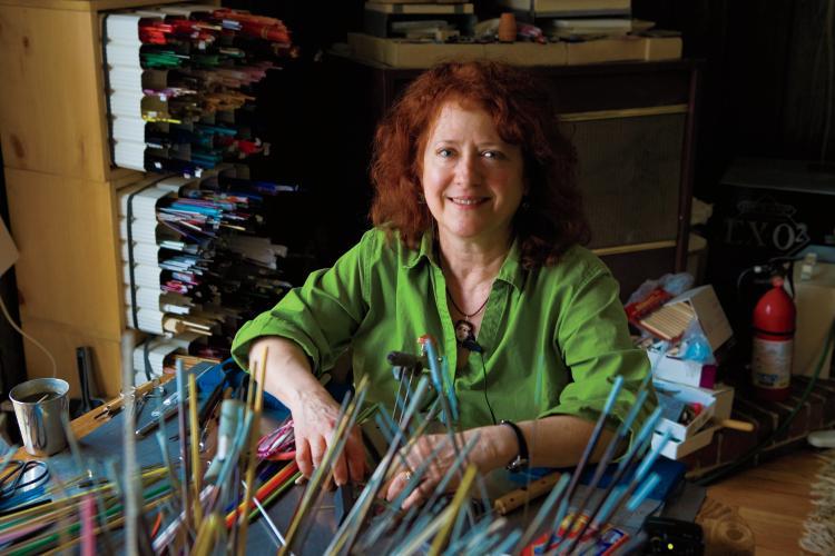 Susan Parry, Glass Art, Signal Mountain, Tennessee