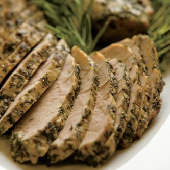 Herb-Rubbed Pork Tenderloin Recipe