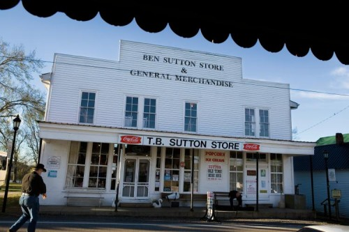 T.B. Sutton General Store in Granville