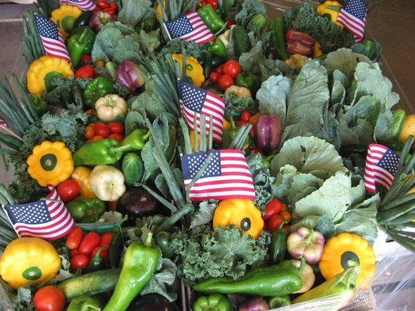 Delvin Farms CSA summer veggies