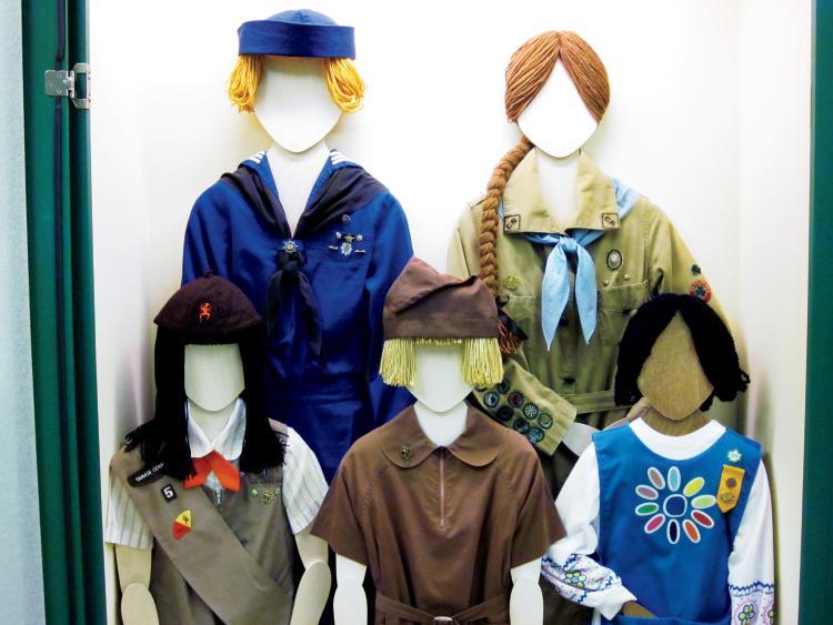 Girl Scouts Exhibit in Oak Ridge, TN
