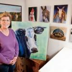 Barnyard Comes Alive in Farm Animal Oil Paintings