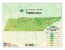 Tennessee Plant Hardiness Zone Map