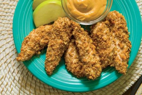 Pecan Crusted Cajun Chicken Fingers