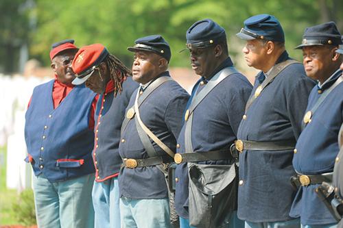 Civil War Fashion Show