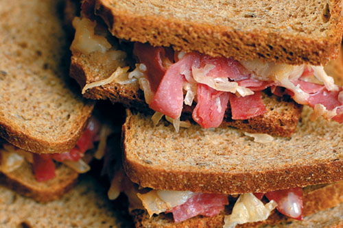 Oven Baked Mini Reubens Recipe