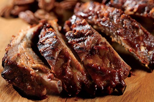 Honey Pecan Baby Back Ribs