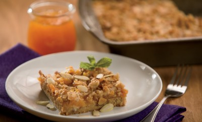 All-Season Peach Squares