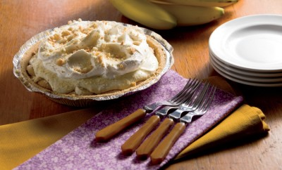 Double Banana Pudding Pie