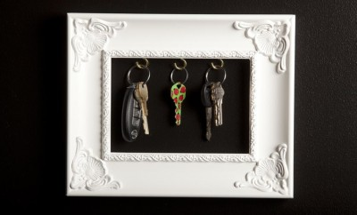 DIY Key Frame Key Holder
