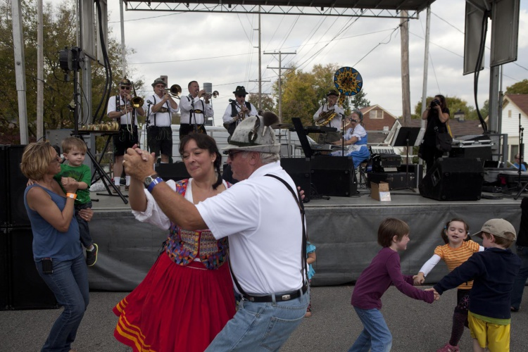 Oktoberfest in Nashville's Germantown neighborhood