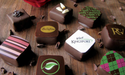 Bellafina Chocolates, custom logo